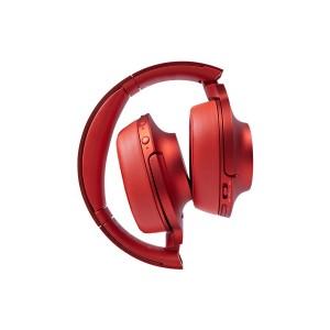 Red Bluetooth Headphone